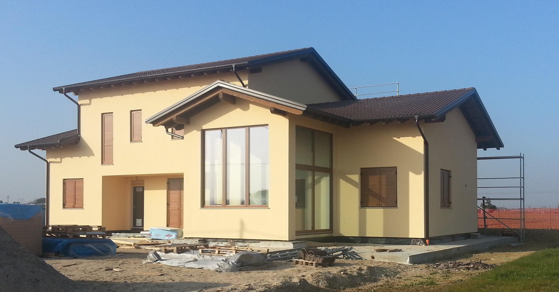 Progettazione e costruzione casa in legno cesena architetto romagnoli davide cesena fc - Progettazione esterni casa ...